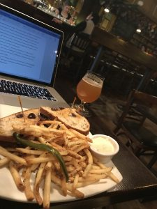 Writing at Jolly Pumpkin