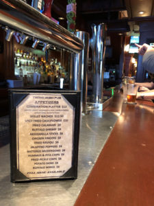Twins Irish Pub - Menu