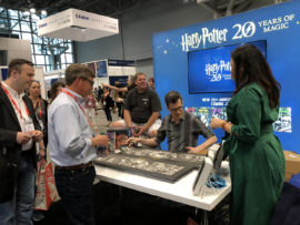 Harry Potter art signing at Book Expo 2018