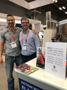 Jonathan Janz and Don D'Auria at Book Expo 2018
