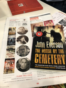 The House By The Cemetery - preview edition at Book Expo 2018
