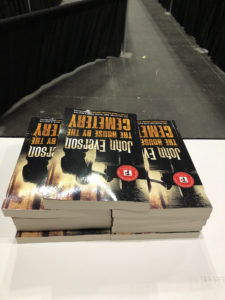 Stack of House By The Cemetery at Book Expo 2018
