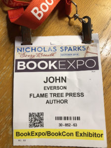 Book Expo badge - John Everson