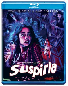 Suspiria - Synapse Blu Ray cover