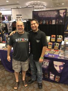 John Everson and Lon Czarnecki at Flashback Weekend 2019.